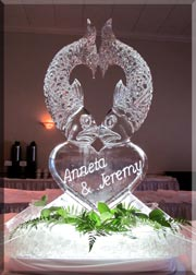 Ice Visions Ice Sculptures For Weddings